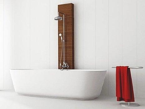 Saturday Specials - White Gloss PVC Plastic Bathroom Cladding   GW Leader