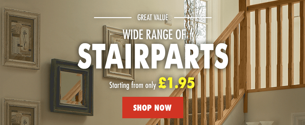 Stair Parts from only £1.95 each