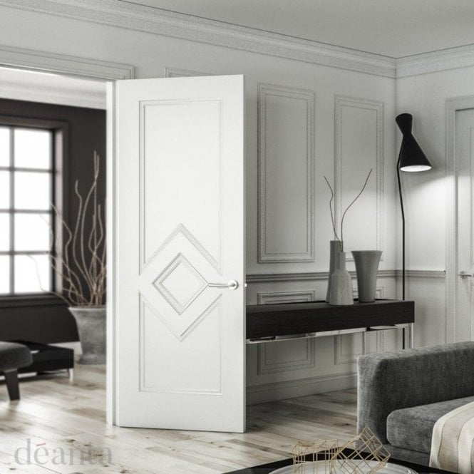Deanta Ascot Internal White Primed FD30 Fire Door
