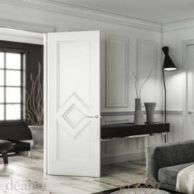 Ascot Internal White Primed FD30 Fire Door