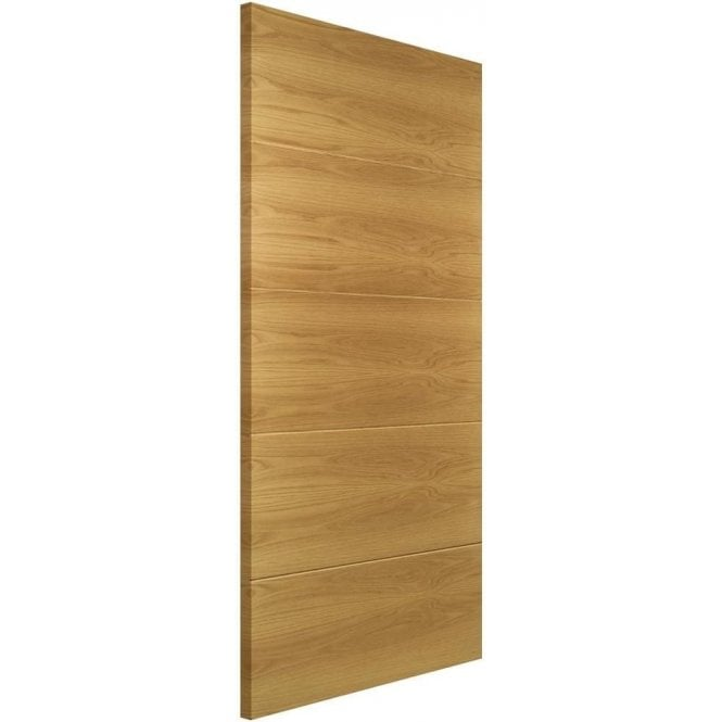 Deanta Augusta Pre-Finished Internal Oak FD30 Fire Door