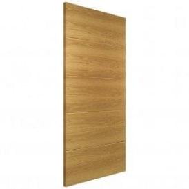 Augusta Pre-Finished Internal Oak FD30 Fire Door