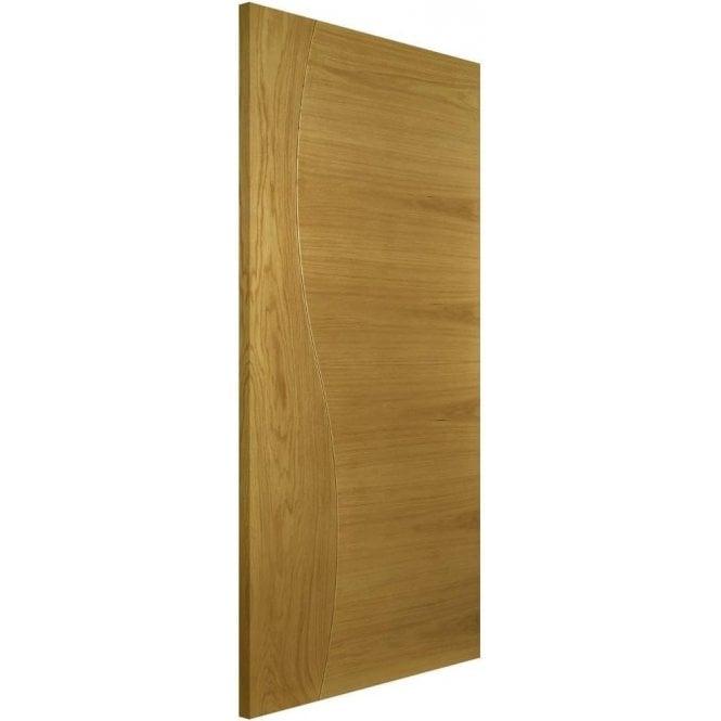 Deanta Cadiz Pre-Finished Internal Oak FD30 Fire Door