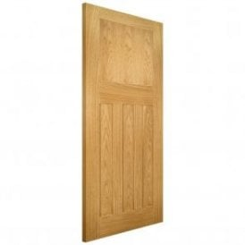 Cambridge Un-Finished Internal Oak Door
