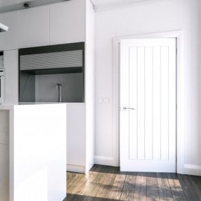 Ely Internal White Primed FD30 Fire Door