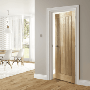 Ely Pre-Finished Internal Oak FD30 Fire Door