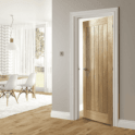 Deanta Ely Pre-Finished Internal Oak FD30 Fire Door