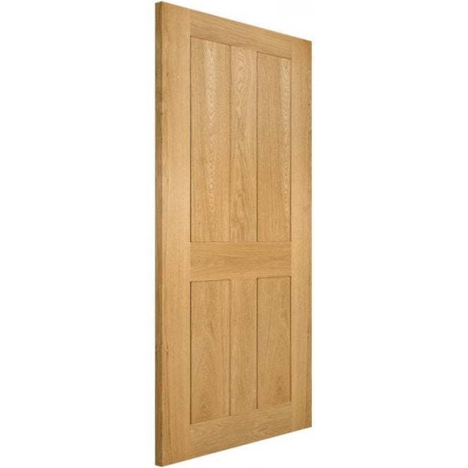 Deanta Eton Un-Finished Internal Oak FD30 Fire Door