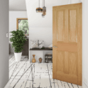 Deanta Kingston Un-Finished Internal Oak FD30 Fire Door