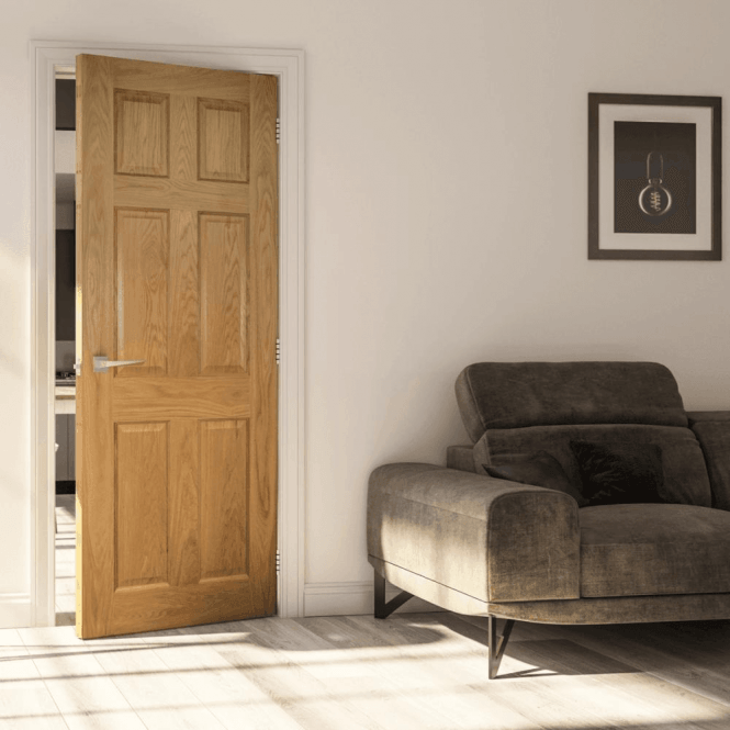 Deanta Oxford Pre-Finished Internal Oak Door