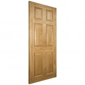 Oxford Pre-Finished Internal Oak FD30 Fire Door