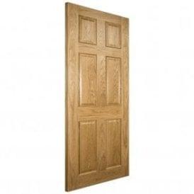 Oxford Pre-Finished Internal Oak FD30 Fire Door