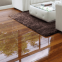 Falquon Flooring High Gloss 4V 8mm Plateau Merbau Laminate Flooring