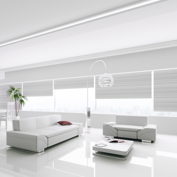 White Gloss Kitchen Flooring: Falquon Flooring High Gloss Flat Edge White Laminate Flooring (D2935)