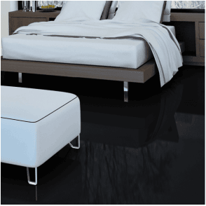 Falquon Flooring High Gloss MAX 8mm Black Laminate Flooring