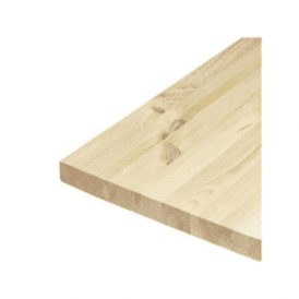 18mm Solid Redwood Pine Furniture Board