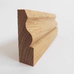American White Oak 25mm x 75mm Ogee Skirting Board / Architrave