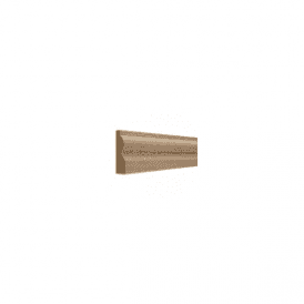 American White Oak 25mm x 75mm Torus Skirting Board / Architrave