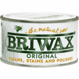 Briwax Original Medium Brown Wax Polish 400g