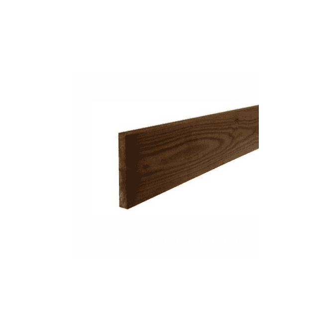 GW Leader Brown Treated Fence Boards 1.8m