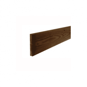 Brown Treated Fence Boards 2.4m