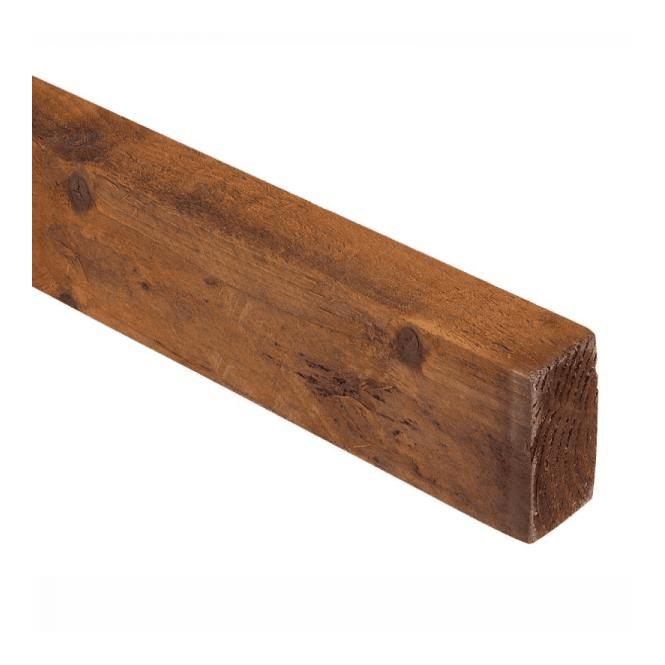 GW Leader Brown Treated Fence Rails 75mm x 32mm x 3.6m