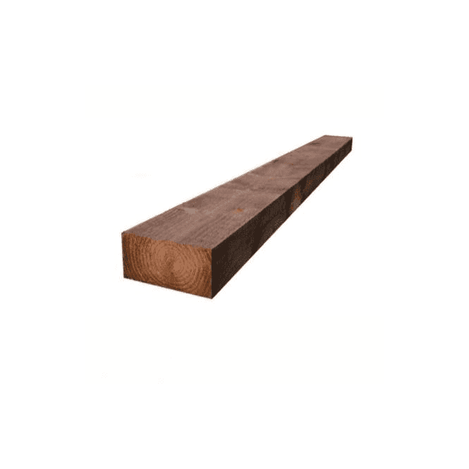 GW Leader Brown Treated Railway Sleepers 200mm x 100mm x 2.4m