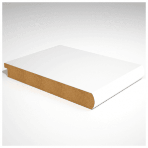 Bullnose Primed MDF Window Board - 25mm x 294mm