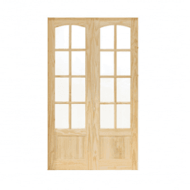 CLEARANCE Internal Newland Clear Pine Glazed French Doors (Slight Imperfections)