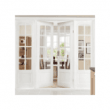 GW Leader CLEARANCE Internal Newland Clear Pine Glazed French Doors (Slight Imperfections)