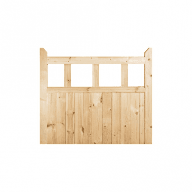 GW Leader External Redwood Unfinished Garden Gate 915 x 915 x 42mm