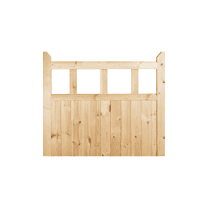 External Redwood Unfinished Garden Gate 915 x 915 x 42mm