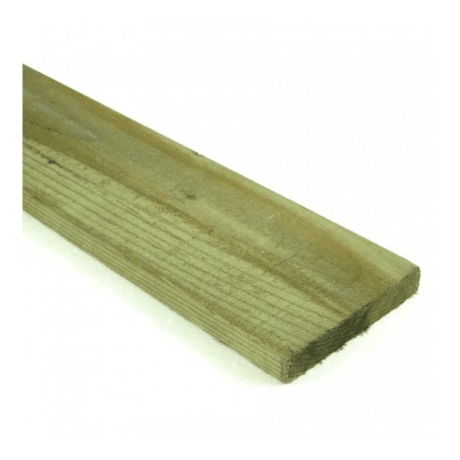 GW Leader Green Treated Fence Boards 2.4m