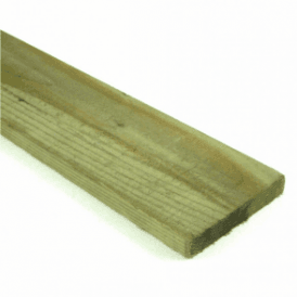 Green Treated Fence Boards 2.4m