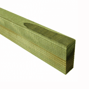 Green Treated Fence Rails 75mm x 32mm x 3.6m