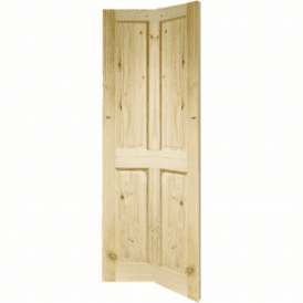 Internal Knotty Pine 4 Panel Bi-Fold Door