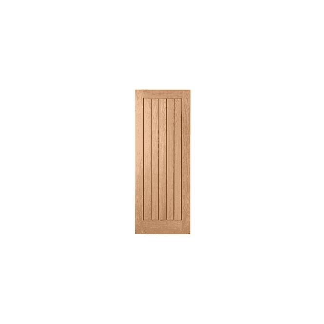 GW Leader Internal Oak Unfinished Mexicano Style Door