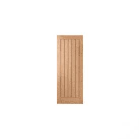 Internal Oak Unfinished Mexicano Style Door