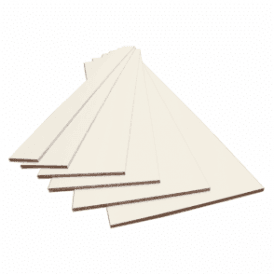 Ivory 15mm Contiplas Furniture Board