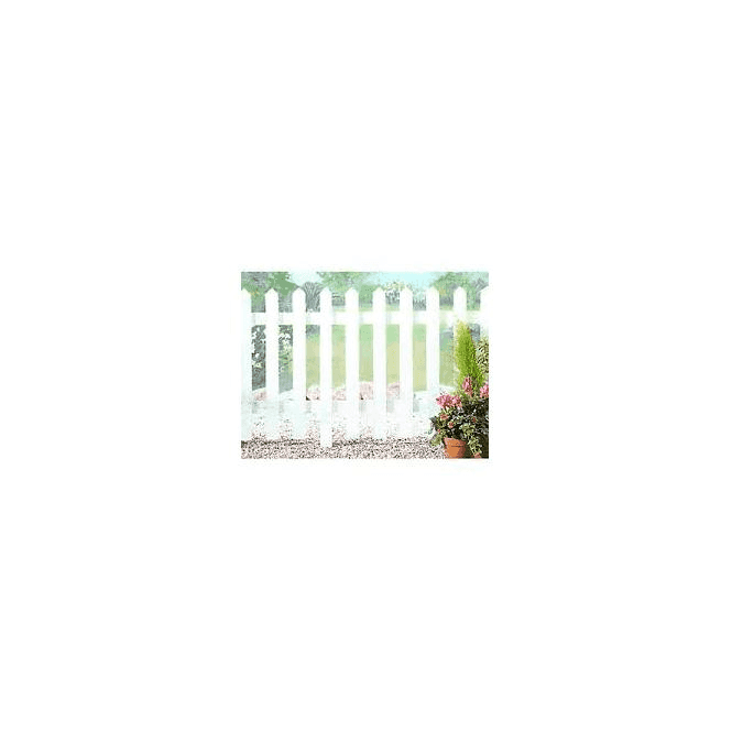 GW Leader Palisade Untreated Picket Fence Kit 1.8m x 0.9m