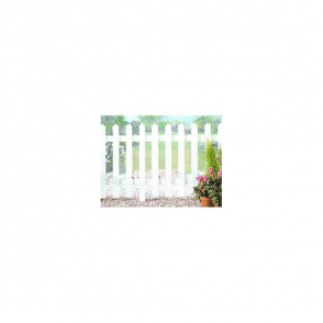 Palisade Untreated Picket Fence Kit 1.8m x 0.9m