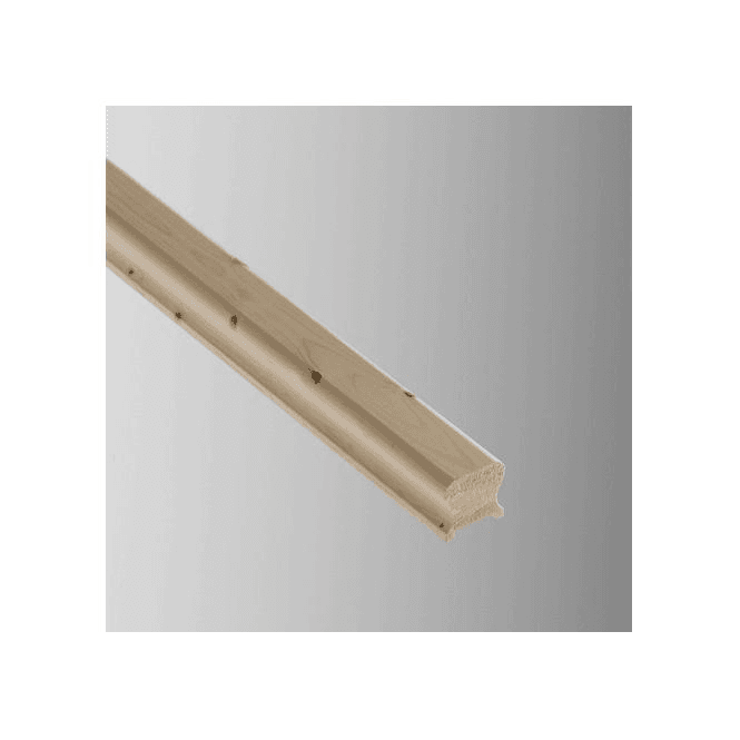 GW Leader Pine Breadloaf Handrail for 32mm Spindles