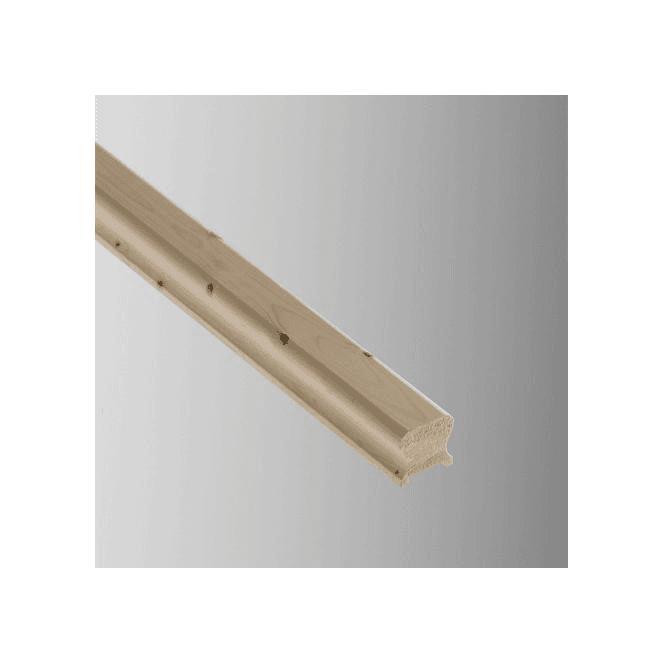 GW Leader Pine Breadloaf Handrail for 32mm Spindles