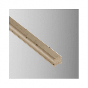 Pine Breadloaf Handrail for 41mm Spindles