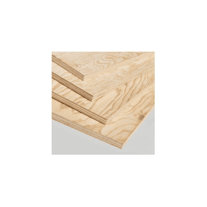 GW Leader Pine Faced Structural External Plywood 2440 x 1219 x 18mm