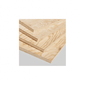 Pine Faced Structural External Plywood 2440 x 1219 x 18mm