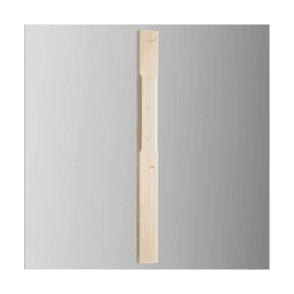 Pine Stop Chamfered Half Newel Post with Pyramid Cap 1500mm