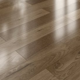 Premier Click 14mm x 125mm Oak UV Lacquered Engineered Real Wood Flooring