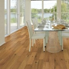 Premier Floor 14mm x 125mm Oak UV Lacquered Engineered Real Wood Flooring