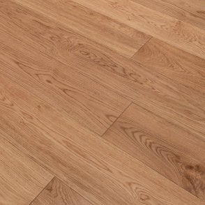 Premier Floor 14mm x 190mm Oak Brushed & Matt UV Lacquered Engineered Real Wood Flooring